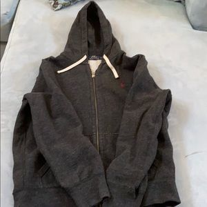 Polo by Ralph Lauren Thick Zip-Up Hoodie Jacket